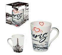 Caneca de ceramica muddy paris 340 ml - Wellmix