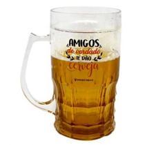 Caneca de chop amigos dão cerveja - 500ml - Zc