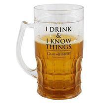 Caneca de chop  i drink  i know - 500ml - Zc