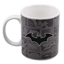 Caneca De Porcelana 300 ml - Batman Liga Da Justiça - Oficial - Dc
