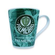 Caneca De Porcelana Palmeiras 300 Ml Oficial - Wellmix