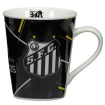 Caneca de Porcelana - Santos Fc - Times De Futebol