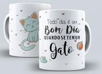 Caneca Decoraçao Pet Mãe de Cachorro Mãe de Gato - Canecas Top