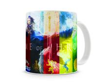 Caneca Game of Thrones Casas IV - Artgeek
