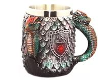 Caneca Game Of Thrones Got Fire And Blood Medieval 350ml - Pdv