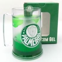 Caneca Gel Congelante Palmeiras 300 ML -