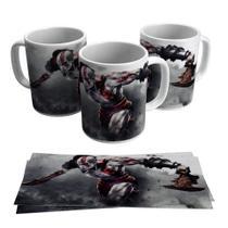 Caneca God Of War Kratos Gamer Geek Game Jogo - Live
