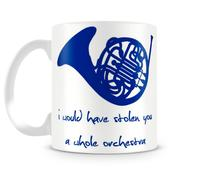 Caneca How I met your mother blue french horn - Artgeek
