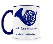Caneca how i met your mother blue horn azul - Artgeek