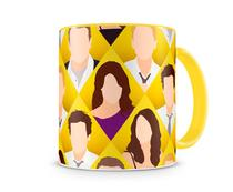 Caneca How I met your mother Desenho Yellow - Artgeek
