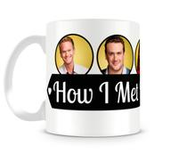 Caneca How I met your mother personagens I - Artgeek