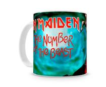 Caneca Iron Maiden The Number Of The Beast - Artgeek