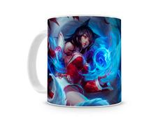 Caneca League of Legends ahri - Artgeek
