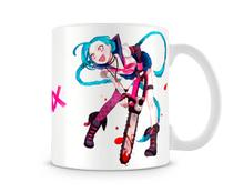 Caneca League of Legends Jinx - Artgeek