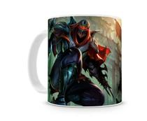 Caneca League of Legends Zed - Artgeek