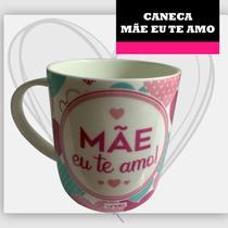 Caneca mae eu te amo ceramica 390 ml - Unika