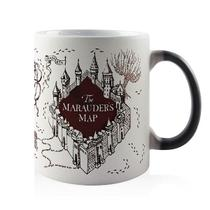 Caneca Magica - Harry Potter - Mapa do Maroto - Fabrica geek