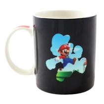 Caneca Mágica Super Mario 300ML Cenário Nintendo licenciada - Zc