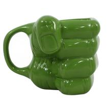 Caneca Mão do Hulk 3D 350ML Marvel Oficial - Zc