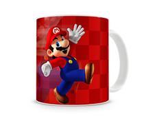Caneca Mario Bros Vermelha - Artgeek