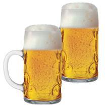Caneca Masskrug Chopp/Cerveja 1 litro - kit com 2 unidades - Libbey