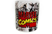 Caneca Nerd Geek Marvel Comics Hq Quadrinhos 325ml - Arts cup