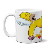 Caneca Os Simpsons Homer Sleep - Elicomics