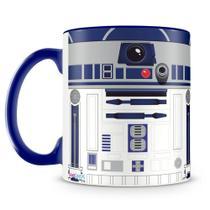 Caneca Personalizada Star Wars R2D2 (Azul Royal) - Amocanecas