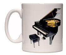Caneca Piano - Lojaloucospormusica