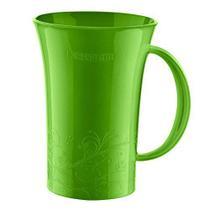 Caneca Plástico Sanremo cor verde 460 ml -