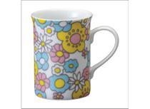 Caneca Porcelana 240 ml Alice Schmidt - SCH 395 -