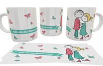 Caneca Porcelana Feliz Dia Dos Namorados 2 - Central Personalizados