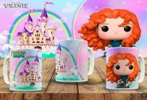 Caneca porcelana personalizada colecionáveis funko pop princesas 325 ml - Atitude Signs