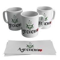 Caneca Profissões Agronomia 325ML - Biona
