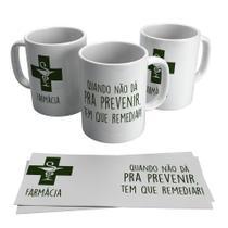 Caneca Profissões Farmácia 325ML - Biona