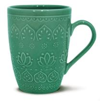 Caneca  Relieve Green 306ML Corona - Yoi