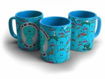 Caneca Ricky and Morty Meeseeks Look At Me - Biohazard