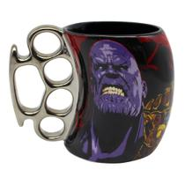 Caneca soco avengers thanos marvel 350ml - Zc