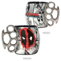 Caneca soco dead pool marvel 350ml - Zc