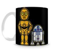 Caneca Star Wars C3PO e R2D2 - Artgeek