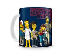 Caneca Stranger Things Simpsons III - Artgeek