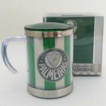 Caneca Térmica Com Tampa Palmeiras -