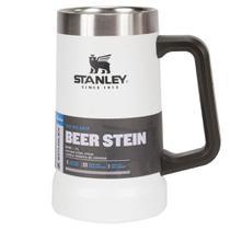 Caneca Térmica de Cerveja Stanley Branco 710ml Até 7hs Gelada -