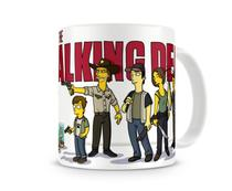 Caneca The Walking Dead - Simpsons - Artgeek