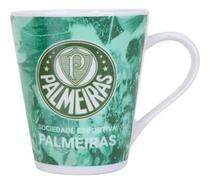 Caneca Xícara Chá Café Porcelana Time Palmeiras - Wellmix