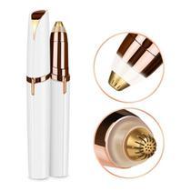 Caneta Depilador Aparador de Sobrancelha Indolor USB - Professional Beauty