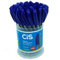 Caneta Esferográfica Neo Tip 0.7 Azul 50 unidades - Cis -