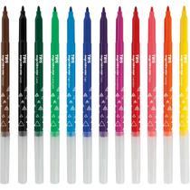 Caneta hidrografica mega hidro color 12 cores pct.c/06 - Summit