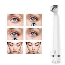 Caneta Massagem Vibratória para Olhos - Anti Rugas Olheiras (Branca) - Wapshop
