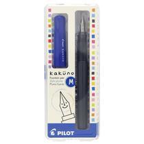 Caneta Tinteiro Pilot Kakuno Média Azul FPKA1SR-L-M-BG -